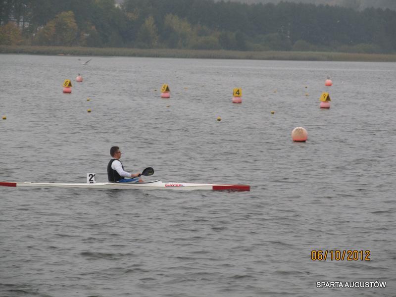 Jakub Sztuk zmęczony po ukończonym biegu 17,5 km
