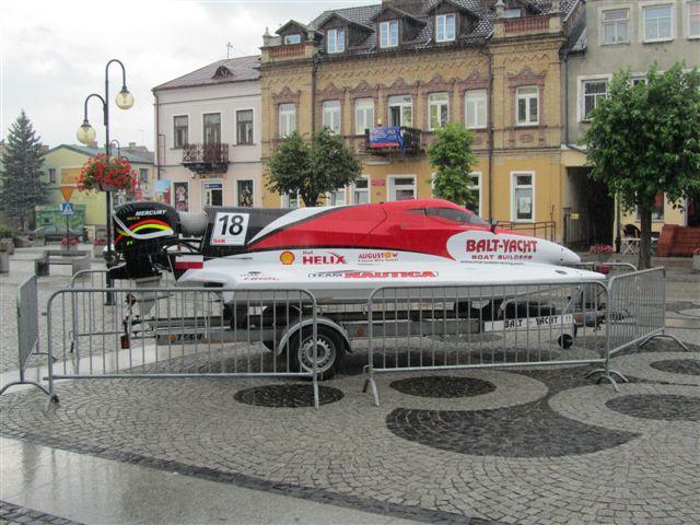 Nowy rekord szybkości na polskich wodach ustanowiony w Augustowie