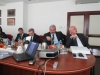 Zarząd Województwa w trakcie prezentacji ( ma pierwszym planie Marszałek J. Dworzański oraz J. Piorunek