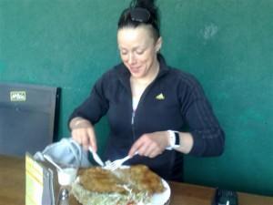 Nie  czas na odchudzanie,   po ostrym  treningu trzeba dobrze zjeść